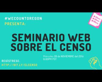 Census 101 in Spanish