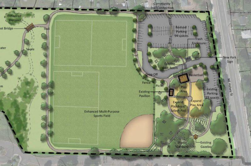 Donald Robertson Park Enhancements