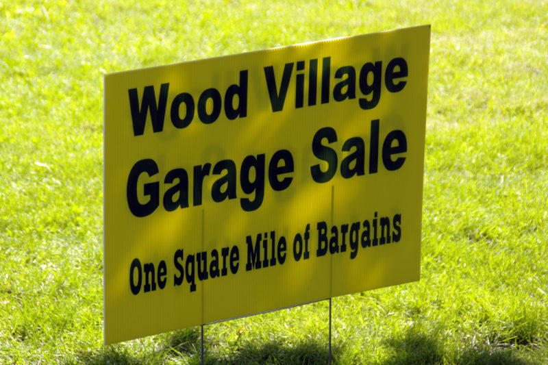 City Garage Sale Weekend City Of Wood Village